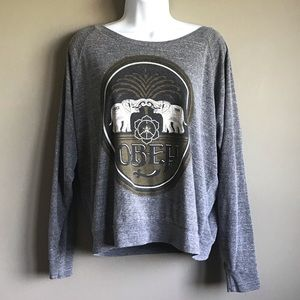 Obey Long Sleeve Graphic Shirt